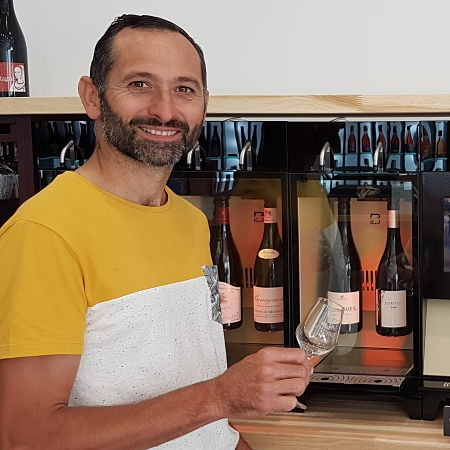 Bertrand Galbrun vigneron à Bourgueil
