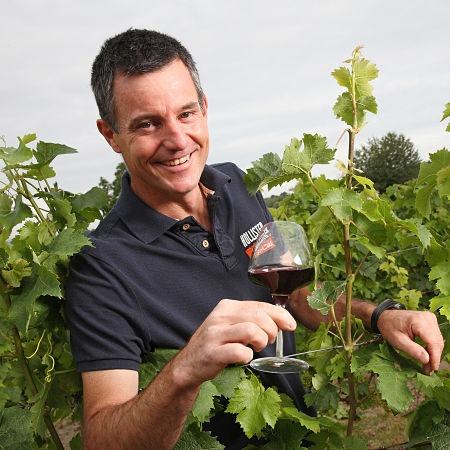 Vincent Grégoire vigneron à Bourgueil