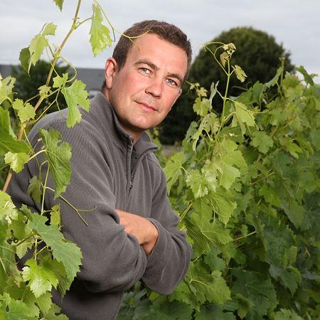 Mickaël Dubois vigneron de Bourgueil