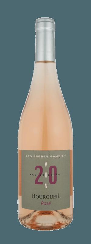 Vin rosé Bourgueil cabernet franc