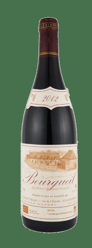 Vin rouge cabernet franc