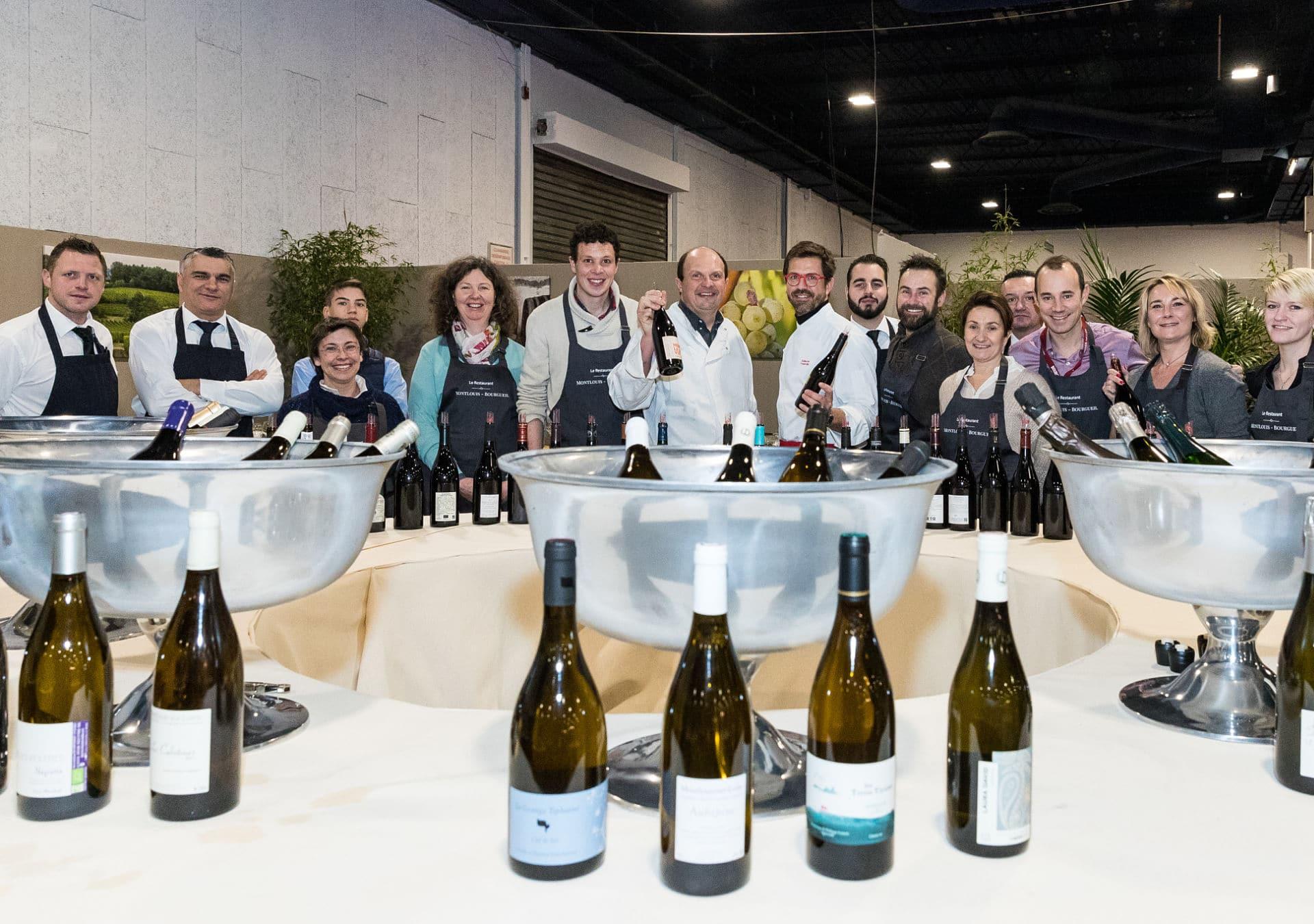bourgueil montlouis restaurant salon vins loire